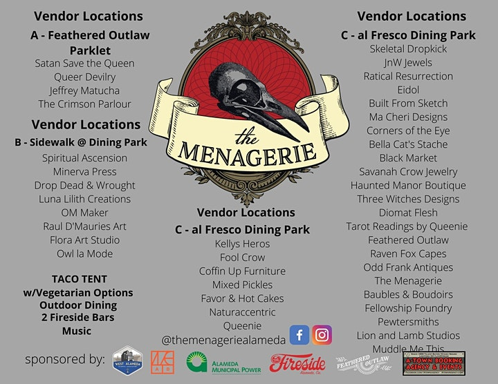 The Menagerie Oddities Market image