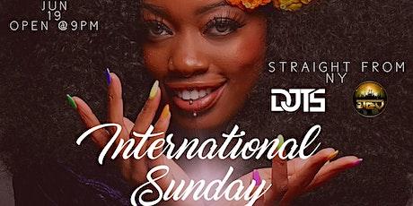 International Saturday tickets