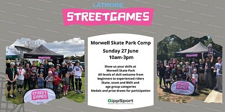 Morwell Skate Park Competition tickets