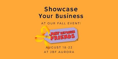 Vendor Registration! JBF Aurora FALL 2021 tickets
