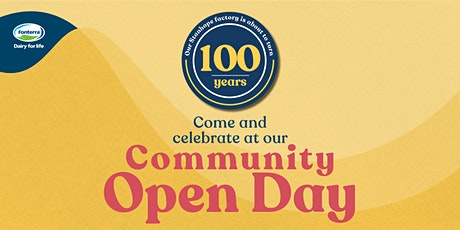 Stanhope Centenary Community Open Day tickets