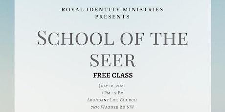 School of the Seer tickets