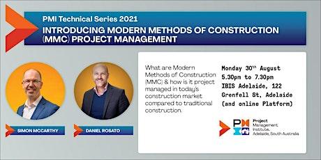 Introducing Modern Methods of Construction (MMC) tickets