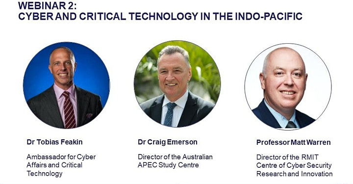 WEBINAR 2: CYBER AND CRITICAL TECHNOLOGY IN THE INDO-PACIFIC image