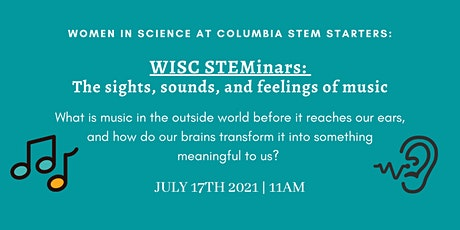 STEMinars: The sights, sounds, and feelings of music tickets