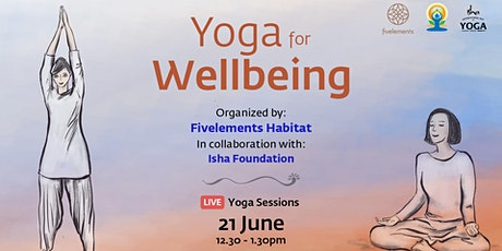 Yoga for Wellbeing by Isha Foundation tickets