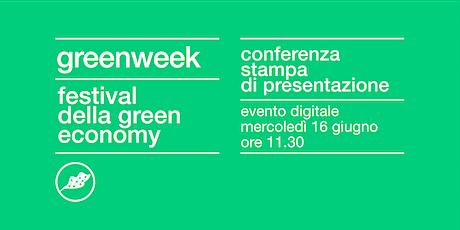 Conferenza stampa Festival della Green Economy 2021 biglietti