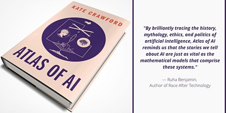 Book Launch: Atlas of AI by Kate Crawford tickets