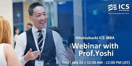 Hitotsubashi ICS Webinar with Prof. Yoshi Fujikawa biglietti
