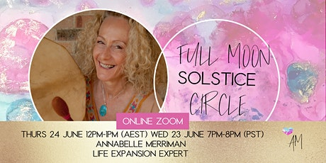 Full Moon Solstice  Circle tickets