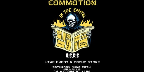 Commotion in the Capital tickets