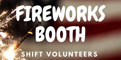 GTC FIREWORKS BOOTH SIGNUPS tickets