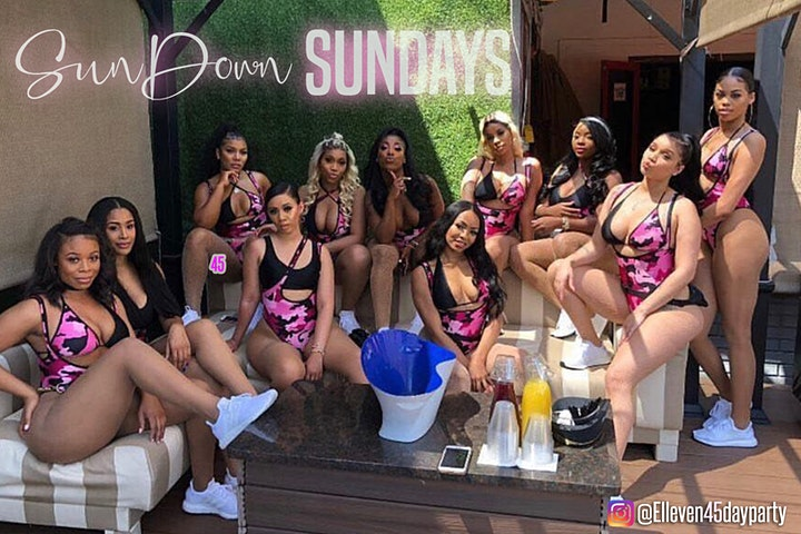 THE HOTTEST BRUNCH/ DAY PARTY!!  FOOD, DRINKS, HOOKAH HURRY ONLY 1 SECTION image