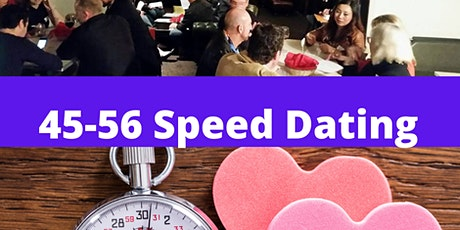 45-56  Speed Dating tickets