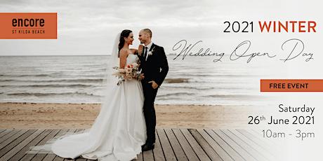 Encore St Kilda Winter Wedding Open Day 2021 tickets