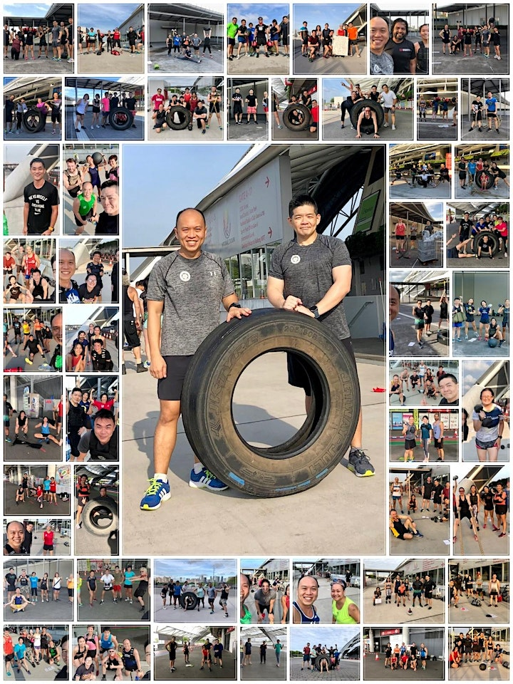 Tue 8am - HIIT Functional Fitness with Weights - Outdoor ActiveSG approved image