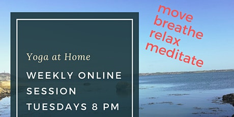 The yoga at home Summer toolbox tickets