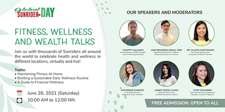 Global Sunrider Day: Fitness, Wellness and Wealth Talks tickets