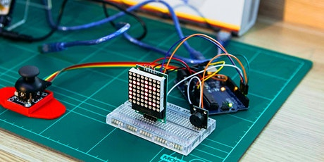 School Holiday Workshop: Build your own Arduino-based Snake Game! tickets
