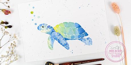 Ferienkurs Watercolor für Kinder und Jugendliche in den Sommerferien KW29 Tickets