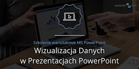 Wizualizacja danych w prezentacjach PowerPoint tickets