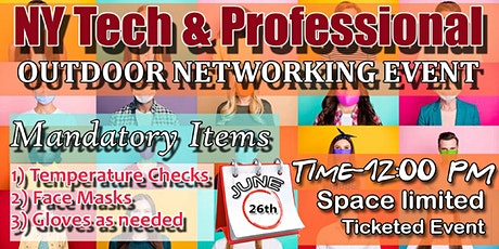 NY TECH & PROFESSIONAL OUTDOOR NETWORKING EVENT. tickets