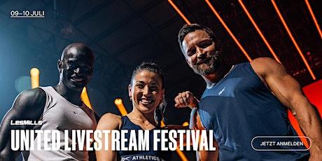 LES MILLS UNITED LIVESTREAM Festival Tickets