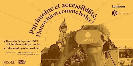 Demoday - Incubateur du Patrimoine, promo SNCF billets
