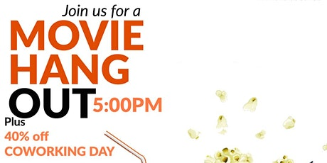 Movie Hangout & Coworking Day biglietti