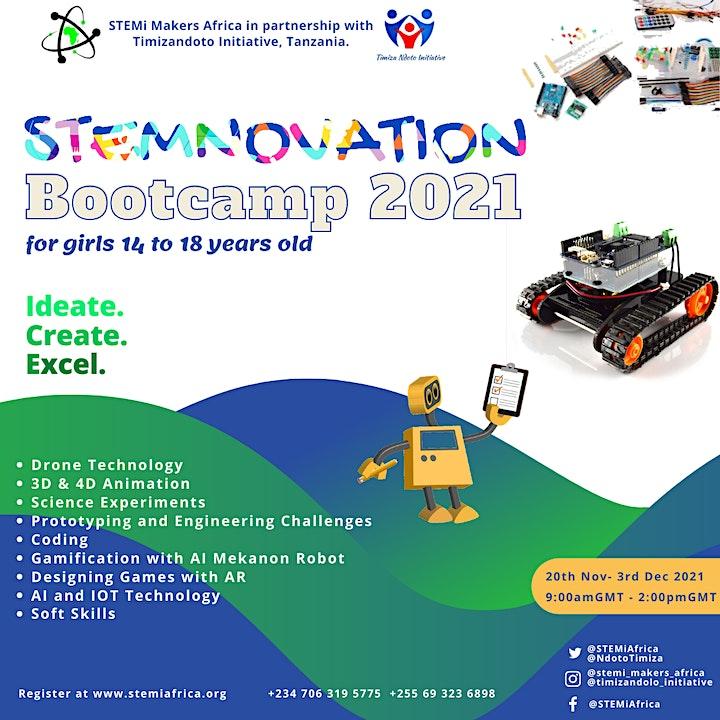 STEMNOVATION Bootcamp, 2021 image