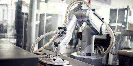 MainDigitalTwin – AR und VR für Industrieanlagen mit Robotern tickets