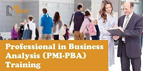 Professional in Business Analysis 4 Days Virtual Training in Cuernavaca tickets