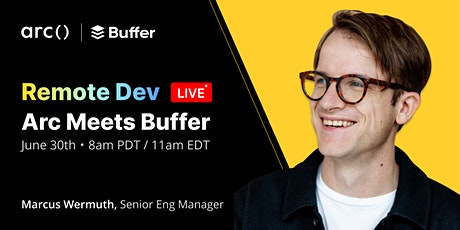 Remote Dev Live: Tips for Getting Hired at Buffer tickets