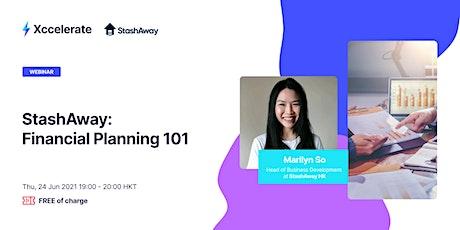 StashAway: Financial Planning 101 tickets