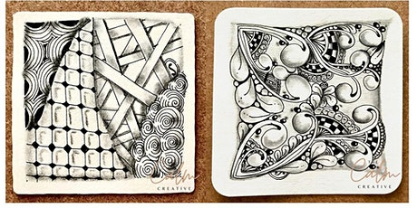 An introduction to the Zentangle® Method with Sheila Murray via Zoom tickets