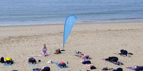Beach Yoga Bournemouth: EAST CLIFF tickets
