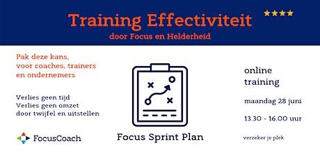 Training Zakelijke effectiviteit door Focus en Helderheid - FocusCoach tickets