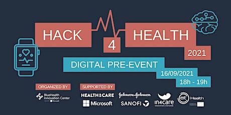 Pre-event Hack4Health tickets
