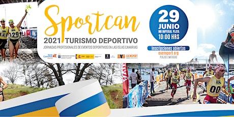 SPORTCAN | Jornadas Profesionales de Turismo Deportivo 2021 tickets