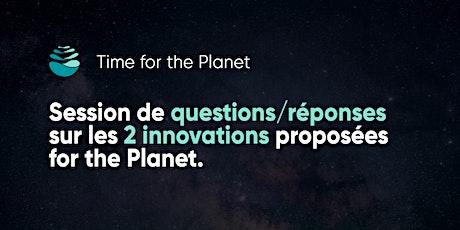 Questions/réponses sur les 2 innovations proposées billets