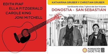 En Donostia - San Sebastián: Homenaje a Edith Piaf, Ella Fitzgerald, ... entradas