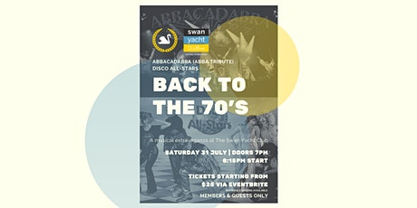 Back to the 70's tickets