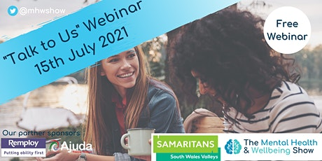 Talk to Us (Samaritans) - Mental Health Online tickets