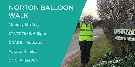 NORTON BALLOON WALK | 4 MILES | MODERATE | NORTHANTS tickets