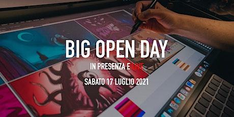 Big Open Day Luglio 2021 biglietti