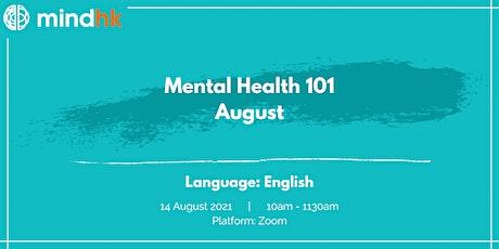 Mental Health 101 August tickets