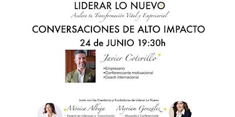 Conversación de Alto Impacto con Javier Coterillo boletos