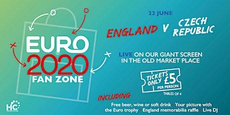 Euro 2020 Fan Park - England vs Czech Republic tickets