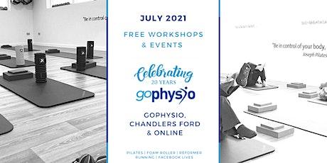 Free Reformer Pilates Workshop tickets