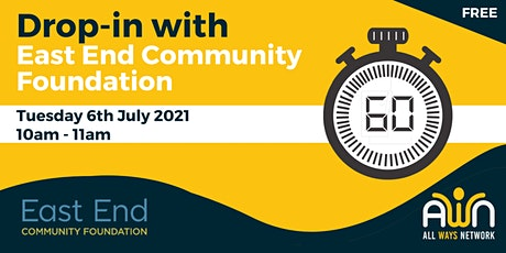 Drop-in  with East End Community Foundation tickets